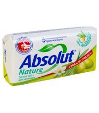Absolut Nature туалетное мыло, Белый чай и масло оливы, 90гр (14492)