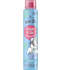 Schwarzkopf got2b Fresh it up сухой шампунь, объем, тропический бриз, 200мл (04964)