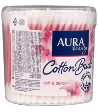 Aura beauty ватные палочки, 100шт (20797)