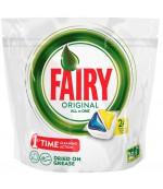 Fairy Original All in One капсулы для посудомоечных машин, лимон, 24шт (16164)