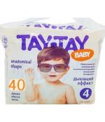 Tay-Tay Baby подгузники #4, 10-15кг, 40шт (90258)