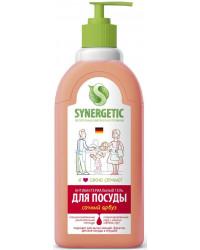 Synergetic средство для мытья посуды и детских игрушек, Сочный арбуз, 1л (58298)