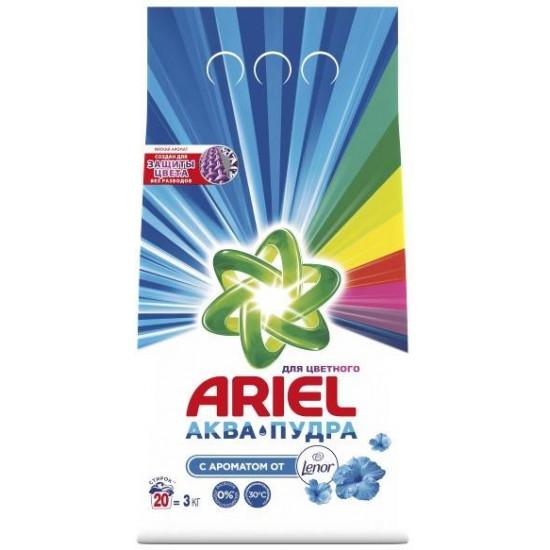 ARIEL Color стиральный порошок автомат, Насыщенный цвет, для цветного белья, 3кг (33437)