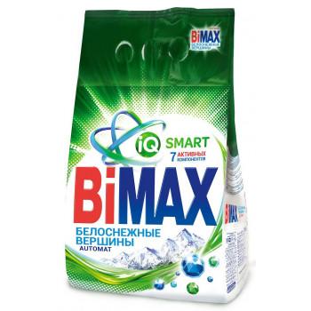 BiMax стиральный порошок автомат, Белоснежные вершины, для белого белья, 3кг (12077)
