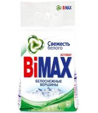 BiMax стиральный порошок автомат, Свежесть белого, Белоснежные вершины, 3000г (12077)