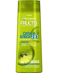 Fructis укрепляющий шампунь, Сила и блеск 2в1, Витамин B3 и B6, экстракт грейпфрута, 250мл (06831)