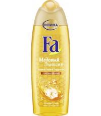 Fa гель для душа, Медовый Эликсир, Аромат Белой Гардении, с экстрактом меда, 250мл (90311)