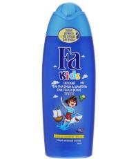 Fa Kids детский гель для душа и шампунь, Пират, без слез, 250мл (39942)