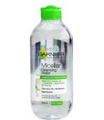 Garnier Skin Naturals мицеллярная вода, снимает макияж, очищает, убирает жирный блеск, для комбинированной и чувствительной кожи, 400мл (95187)