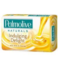 Palmolive туалетное мыло, Наслаждение, Молоко и Мед, 90гр (34180)