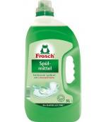 Frosch средство для мытья посуды, зеленый лимон, 5л (15585)