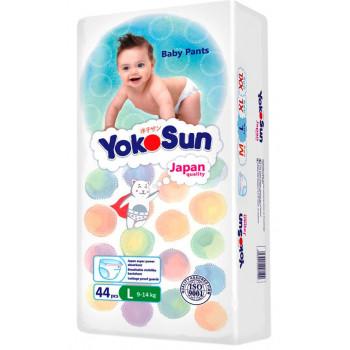 Yokosun трусики #4 L, 9-14 кг, 44шт (09615)