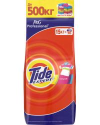 Tide Expert Color стиральный порошок автомат, для цветного белья, 15кг (78051)