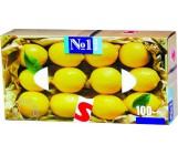 Happy универсальные гигиенические платочки, с ароматом Лимона, 100 шт (20352)