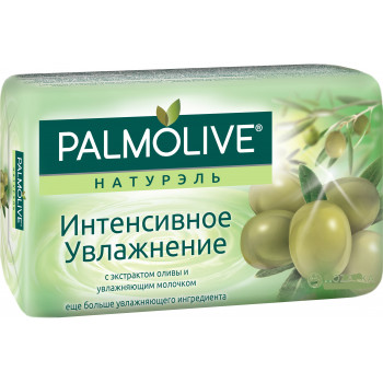 Palmolive натурэль туалетное мыло, интенсивное увлажнение, 150гр (52764)