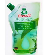 Frosch Pure care жидкое мыло для рук, запаска, Алоэ вера, 500мл (97475)