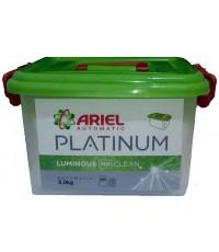 Ariel Platium стиральный порошок автомат в контейнере, Luminous clean, универсальный, 3кг (02445)