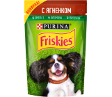 Friskies консервированный корм пауч для взрослых собак, с ягненком, 85гр (32492)