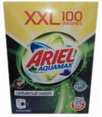 ARIEL Aquamax стиральный порошок автомат, концентрированный, универсальный, 100 стирок, 6кг (51229)