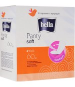Bella Soft ежедневные прокладки, 60шт, 2 капли (12084) (12008)