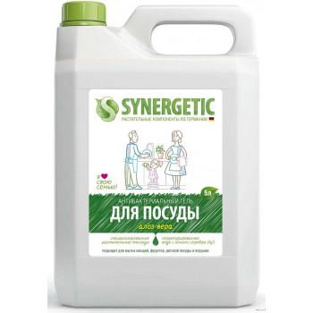 Synergetic средство для мытья посуды и детских игрушек, Алоэ вера, 5л (58380)