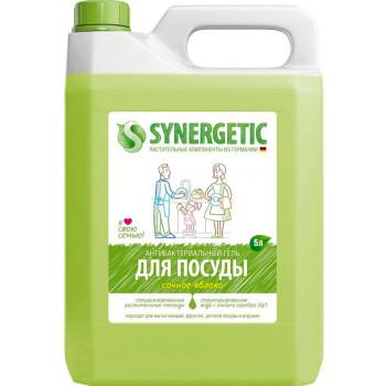 Synergetic средство для мытья посуды и детских игрушек, Сочное яблоко, 5л (58373)
