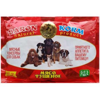 Baronkorm корм для собак и кошек, мясные консервы, 500гр (90013)