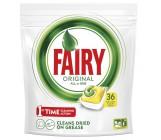 Fairy Original All-in-One капсулы для посудомоечной машины, лимон, 36шт (16089)
