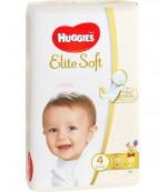 Huggies Elite Soft #4 подгузники, 8-14 кг, 66шт (45301)