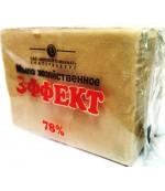 Эффект хозяйственное мыло 78% 300 гр (00485)