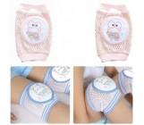 Наколенники для безопасности малышей, розовые, 1шт (02818)