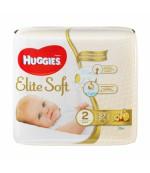 Huggies Elite Soft #2 подгузники, 3-6 кг, 27шт (45486)(05880)