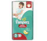 Pampers #5 подгузники-трусики, 12-17кг, 48шт (72906)