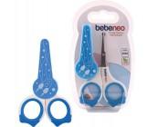 Bebeneo  ножницы с колпачком, синий (04507)