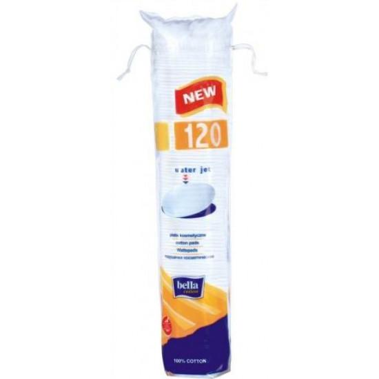 Bella ватные подушечки спонжики 120шт (00477)