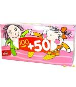 Happy универсальные гигиенические платочки, 150 шт (20901)