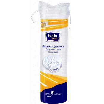 Bella ватные подушечки спонжики 80+30 шт (00033)