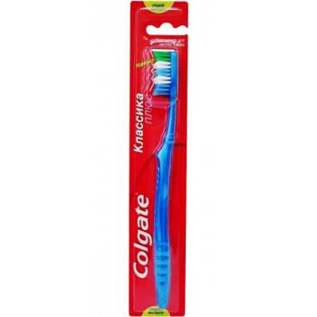Colgate зубная щетка классика, средней жесткости, 1шт (00050)