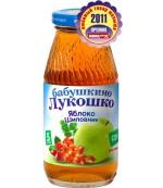 Бабушкино Лукошко сок яблоко, шиповник, с 5 месяцев 0,2 л, 02902