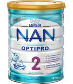 Nestle NAN OPTIPRO сухая молочная смесь, #2, с 6-12 месяцев, 400 г (58616)