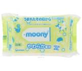 Moony влажные салфетки без запаха, 80шт (35983)