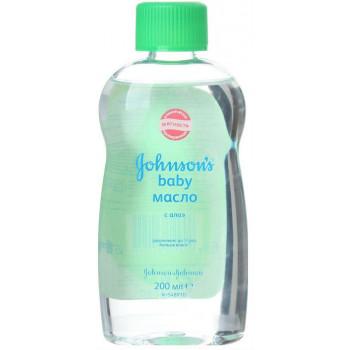 Johnsons baby детское масло, с Алое, 200мл (11511)