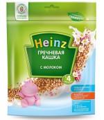 Heinz каша гречневая каша, с молоком, с 4 месяцев, 250гр (01329)
