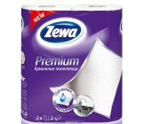 Zewa бумажные полотенца premium, 2 рулон, 2 слоя, 57 отрывов в рулоне (34302)