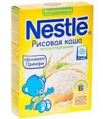 Nestle безмолочная рисовая каша (гипоаллергенная) 4 месяцев 200 гр (31023)