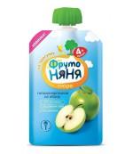 Фруто Няня пюре сашет гипоаллергенное (из яблок) 90гр 4 месяцев (06130)