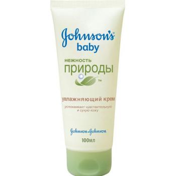 Johnsons baby детский увлажняющий крем, Нежность природы, 100мл (88879)