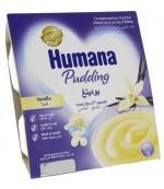 Humana пудинг  (ванильный) 4шт*100гр с 10 месяцев (84476)