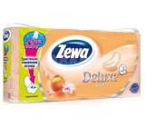 Zewa deluxe туалетная бумага Персика, 8 рулонов, 3 слоя, 145 отрывов в рулоне (35721)