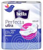 Bella перфекта ultra blue гигиенические прокладки, 5 капель, 8шт (03518)